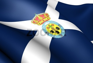 Flag of Santa Cruz de Tenerife Province