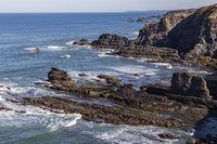 Küste im Alentejo, Portugal, coastline in Alentejo, Portugal