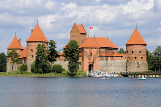 Burg von Trakei, Trakei, Litauen