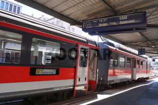 Bahnhof St.Gallen,Schweiz