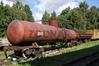 The railway tank