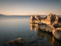 Rocks at Suha Punta on the island of Rab Croatia