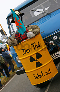 Anti-Atom-Protestaktion, Dannenberg, Gorleben, November 2011