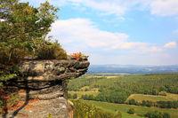 Traumhafte Landschaft im Elbsandsteingebirge