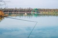 Quarry pond gravel pit