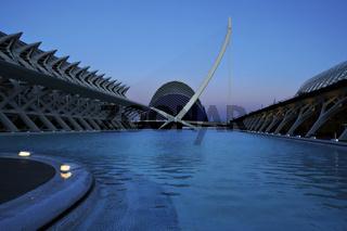 Stadt der Kunst und der Wissenschaften, Valencia, Spanien