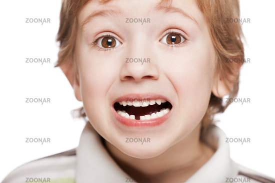 First baby milk or temporary tooth fall out