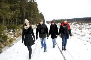 Winterwanderung im Hohen Venn