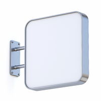 Square signboard 3D