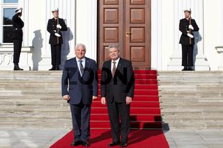 President Joachim Gauck meets President Ricardo Ma