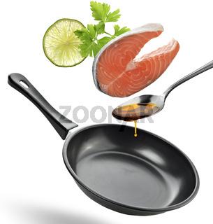 Salmon Cooking Ingredients