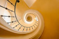 Spiral stairs like snail