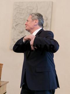 Gauck meets Annan