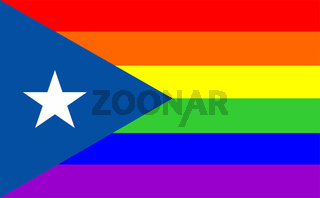gay flag puerto rico