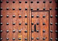 Ornamental spanish door