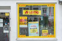 Filiale der Firma Lotto in Kempten