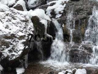 Todtnau Waterfall detail