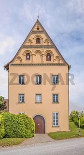 Gebäude beim Schloss Heiligenberg, Linzgau, Baden-Württemberg