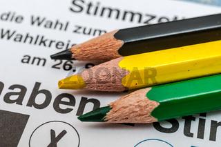 Bundestagswahl - Jamaika Koalition