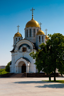 Георгиевский храм в Самаре St George church in Samara