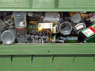 leere Flaschen / empty bottles
