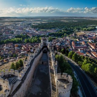 Penafiel Castle, Valladolid, Spain