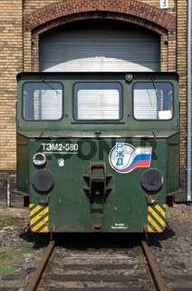 The battery railway truck 'LEW EL 16'