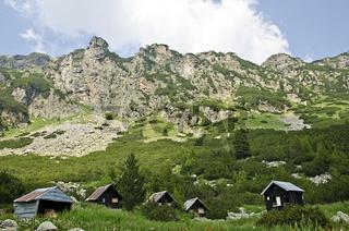 Huts in Rila Mountain