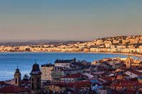 Nce City at Sunrise in France