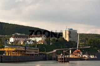 Im Hafen von Sassnitz, Rügen, Deutschland