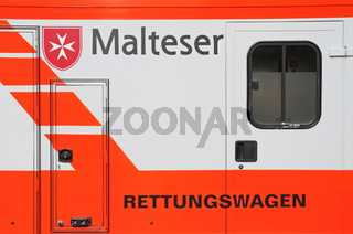 Malteser Hilfsdienst emergency vehicle