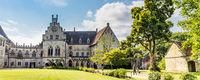 Bentheim Castle in Bad Benthiem Germnay
