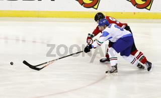 Hungary vs. Italy IIHF World Championship ice hockey match