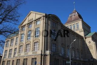 Nationalmuseum, Hakenterasse in Stettin