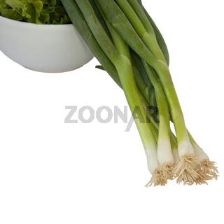 Salatzubereitung