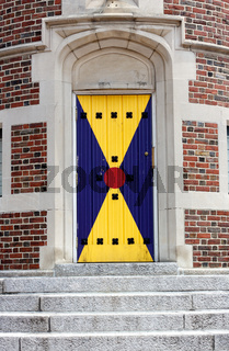 Harvard Lampoon Castle Door