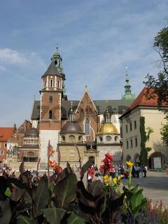 Krakau. Wawel im Sommer