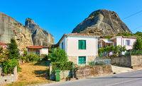 Kastraki village in Greece
