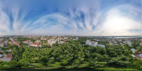 Spherical panorama of the area of the National Research Tomsk State University