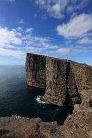 around the Sorvagsvatn in the Faroe Islands