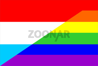 gay flag luxembourg