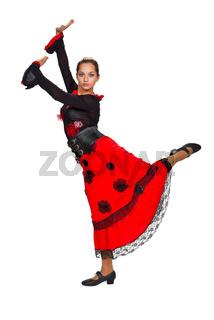 Beautiful spanish dancer.