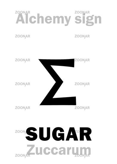Alchemy: SUGAR (Zuccarum)