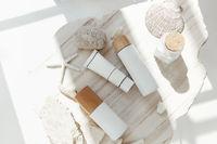 Cosmetic supplies near sea minerals