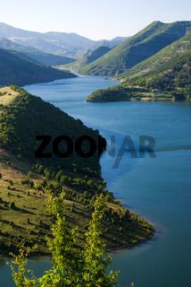 Kardjali lake, Bulgaria