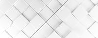 White cubes background, 3d rendering