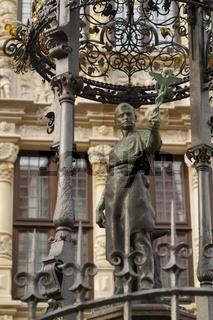 Hannover  - Holzmarktbrunnen
