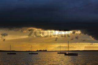 Sunset at Steinhude am Meer