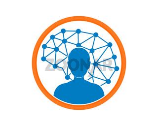 Human brain knowledge in the circle