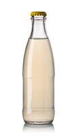 yellow soda water bottle